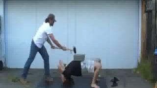 Wrestlers Bridge Concrete Break
