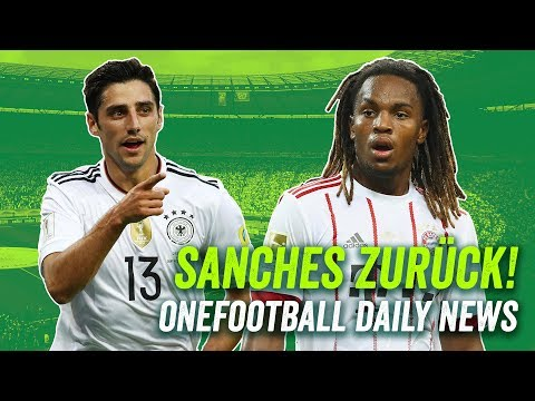 Sanches zurück zu Bayern, Fans pro Videobeweis & Stindl sorgt sich um den Fußball - Daily News