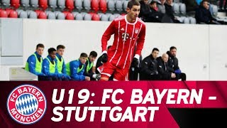 FC Bayern vs VfB Stuttgart | Full Game | Under 19's Bundesliga