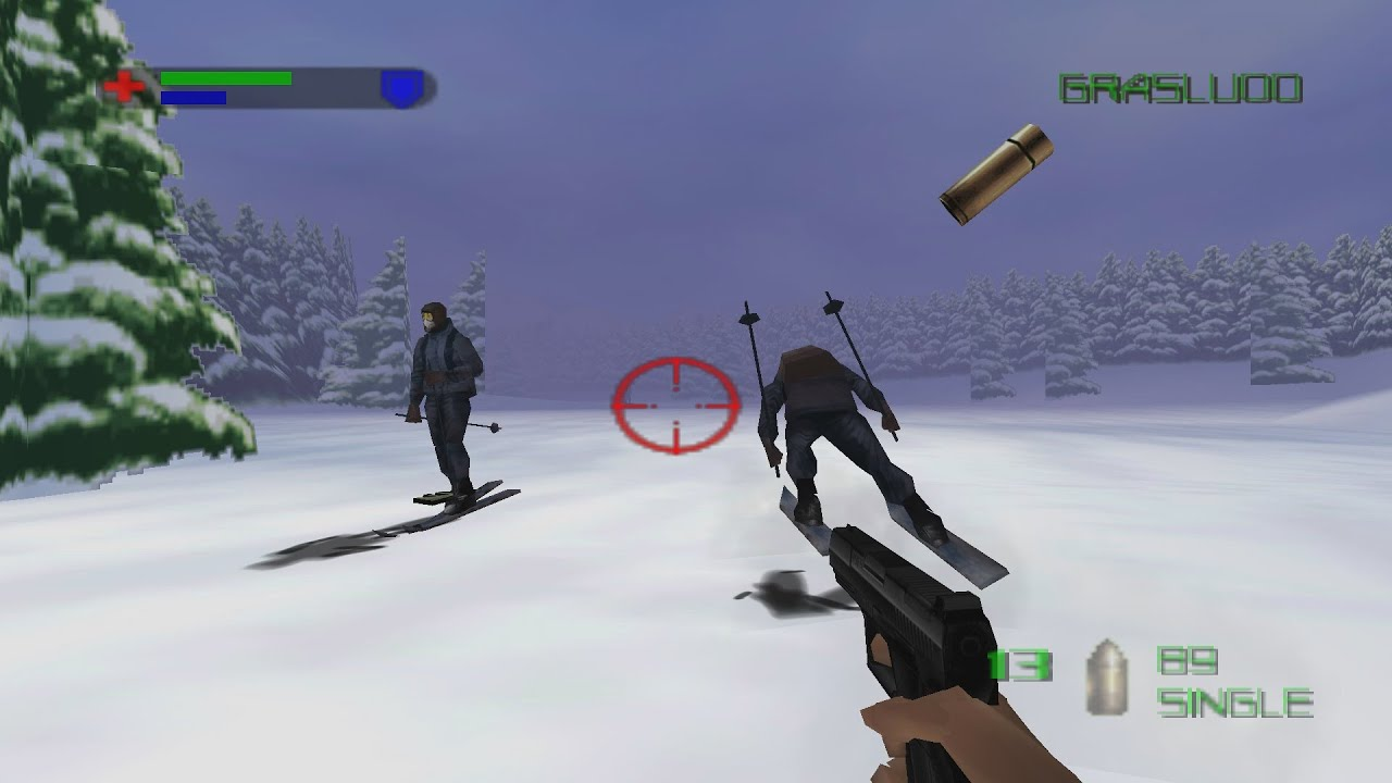 007 The World Is Not Enough N64 Cold Reception 00 Agent