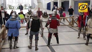 Исторический средневековый бой - молодой вид спорта!