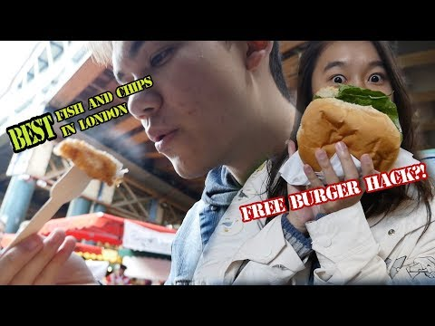 HOW TO EUROPE // ep.4 BOROUGH MARKET w/ Retired Eatbook Host