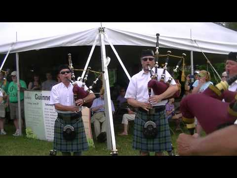 Military Songs (Marines, Army, Air Force, Navy) on bagpipes