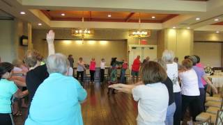 laughter yoga with alexa in fredericksburg va