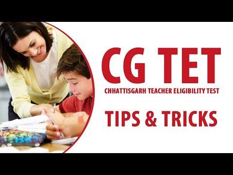 Preparation Tips and Tricks to Crack CG TET Exam