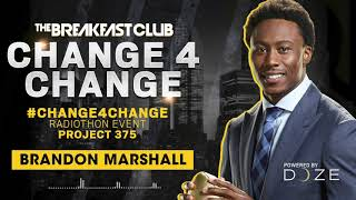 Brandon Marshall Calls In To Donate During #Change4Change