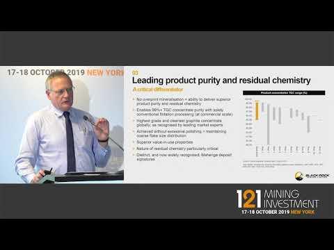 Presentation: Black Rock - 121 Mining Investment New York Autumn 2019