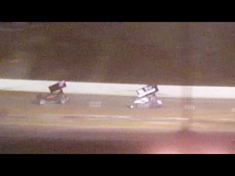Racesaver sprint feature Hesston speedway 9/4/16