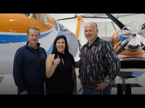 Meet the Stamoules family: The first people who'll fly the Beechcraft King Air 360