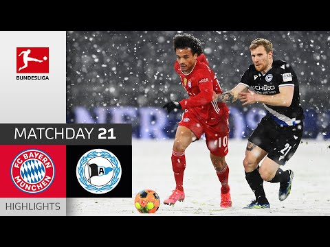 Bayern Munich Arminia Bielefeld Goals And Highlights