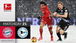 FC Bayern München - Arminia Bielefeld | 3-3 | Highlights | Matchday 21 – Bundesliga 2020/21