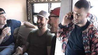 Biz Nasty Gets Pranked By Ryan Whitney, Ryan Malone and Teddy Purcell During Phone Interview