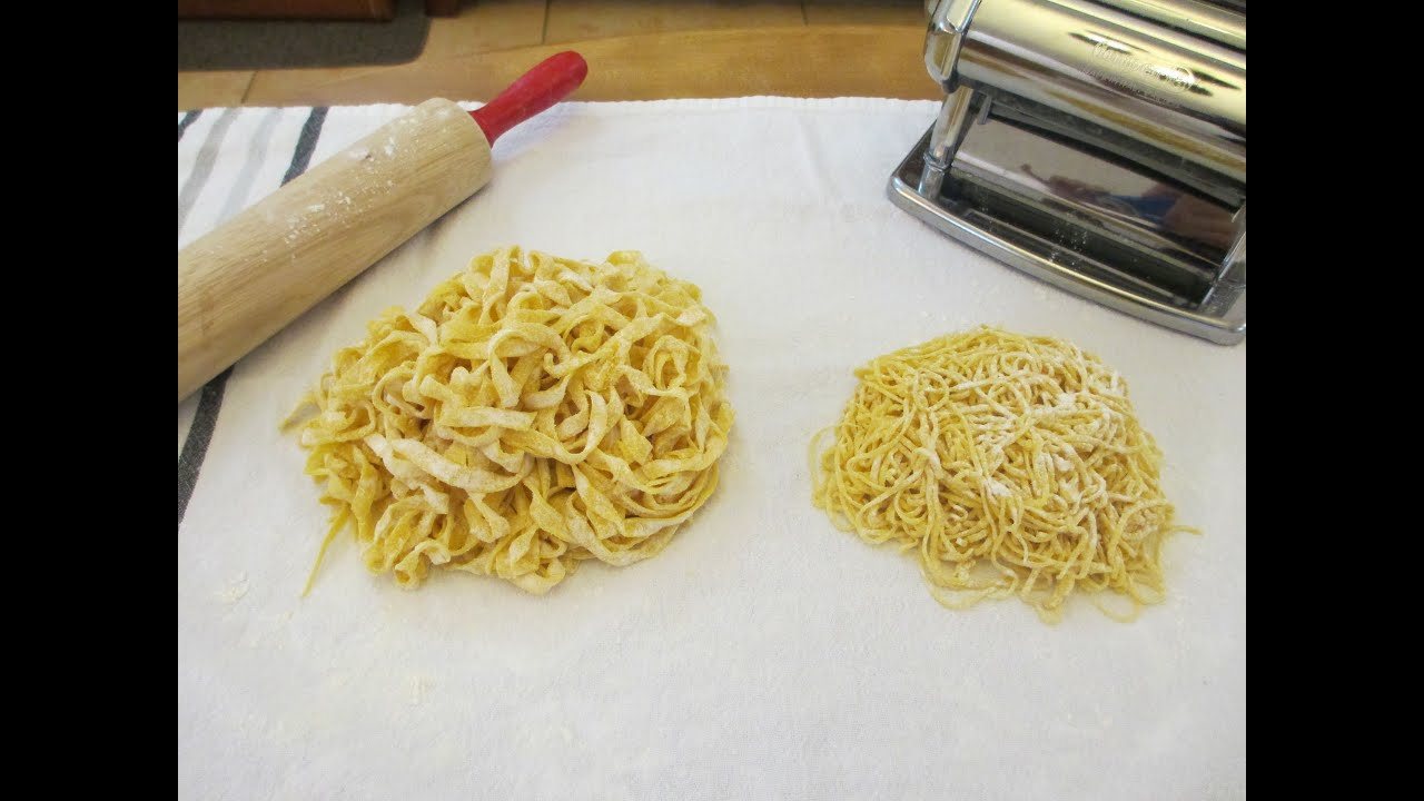 how to make pasta video at home