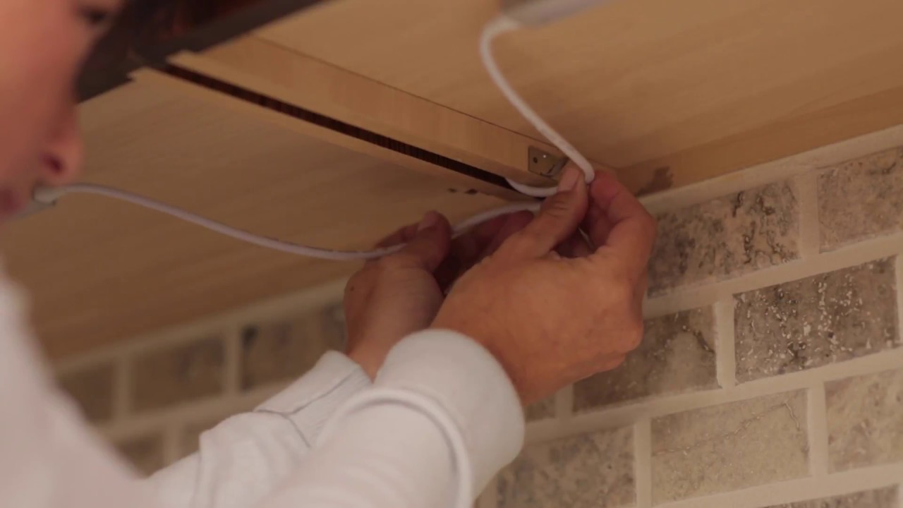 How To Route Jumper Wires For Black Decker Under Cabinet Lighting Wiring Lights