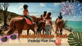 ST. MAARTEN- Seaside Nature Park Family Fun Day Movie March 18, 2018. [HD]