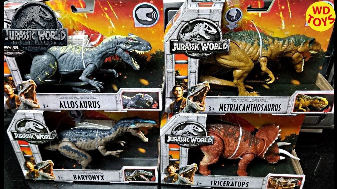 Giocattoli Jurassic World 2018 New Jurassic World Facts Mattel App Ios Android Jurassic World 2 Fallen Kingdom Dinosaur Toys
