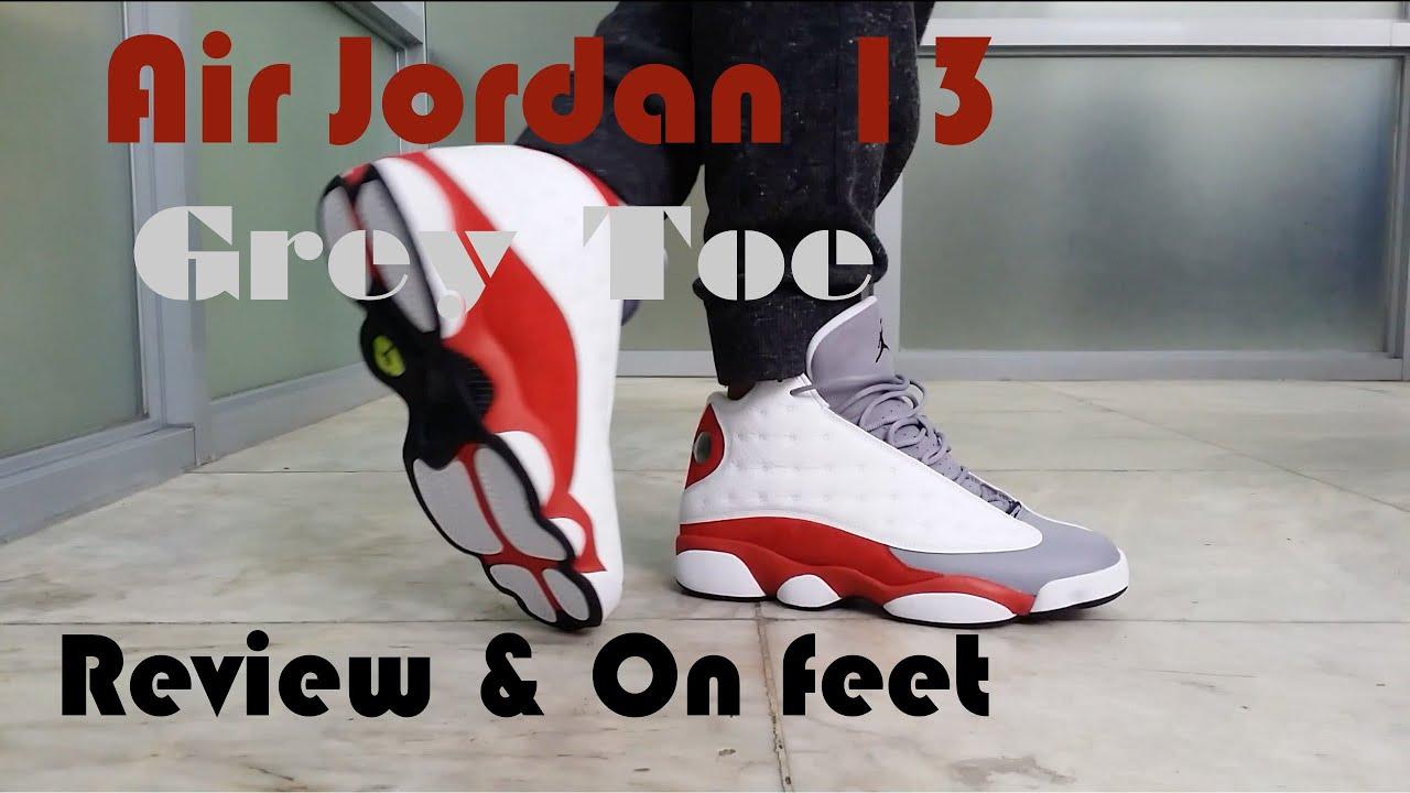 nike air max 90 2013 - 2014 Air Jordan 13 Retro 'Grey Toe' Review & On Feet - YouTube