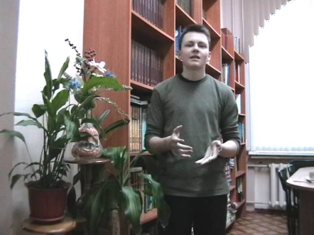 Изображение предпросмотра прочтения – НиколайГорелик читает произведение «Сонет к форме» В.Я.Брюсова