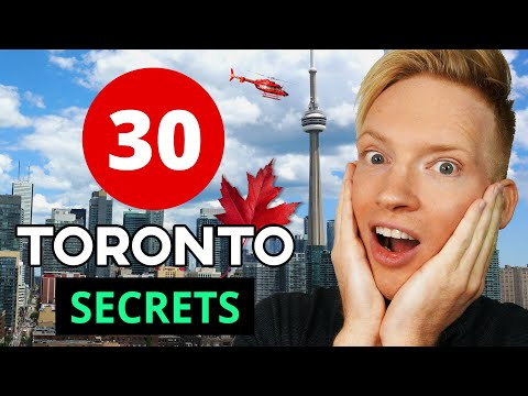 30 Secrets & Best Places in Toronto, Canada (2018)