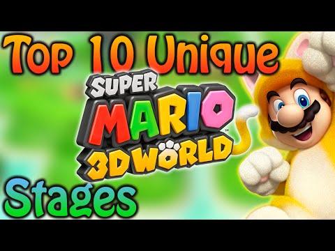 Top 10 Unique Super Mario 3D World Stages