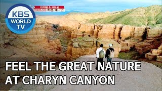 Feel the great nature at Charyn Canyon [Battle Trip/2019.08.11]