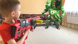 Boomсo Gun  game Flower Monster Invasion Бумко  Вторжение цветочного монстра