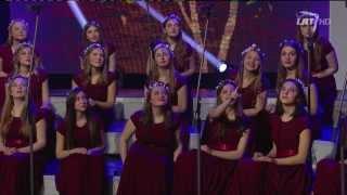 """LRT HD @ Merginų choras """"Liepaitės"""" atliko muzikinį kūrinį """"Lėk, gervele"""" (2014)"""