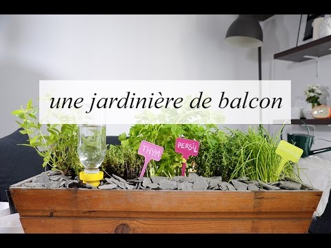 conseils d co et jardinage une jardini re pour mon. Black Bedroom Furniture Sets. Home Design Ideas