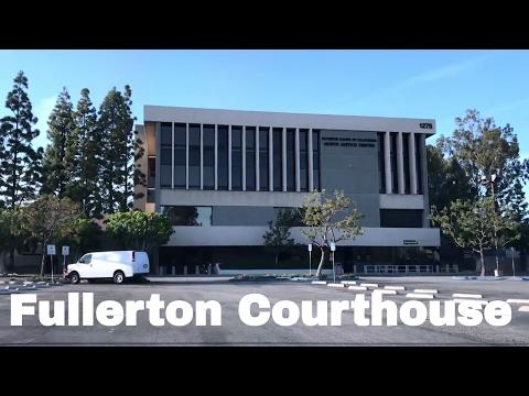 Fullerton Courthouse