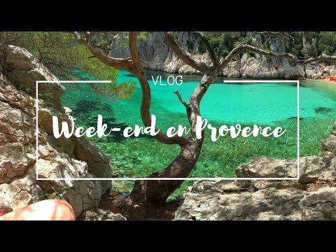 Vlog : Week-end surprise en Provence | Luberon, Aix en Provence et Calanques