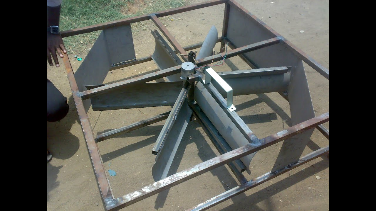 Mechanical engineering projects - Innovative Mechanical Engineering Project Wind Powerd Car