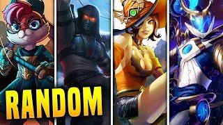 The *RANDOM CHAMPION* Challenge In Paladins 1.5