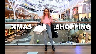 I do online and Westfield shopping, looking for gifts I know people...