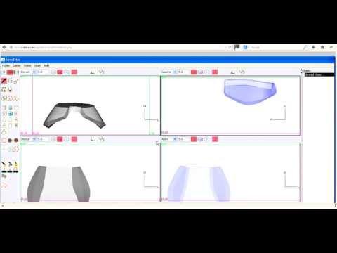 crobics logiciel de dessin 3d tutoriel commandes de. Black Bedroom Furniture Sets. Home Design Ideas