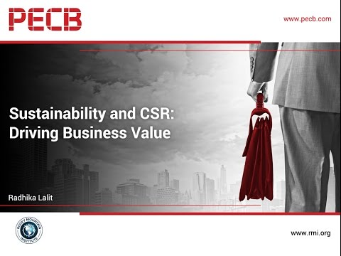 Sustainability and Corporate Social Responsibility: Driving Business Value