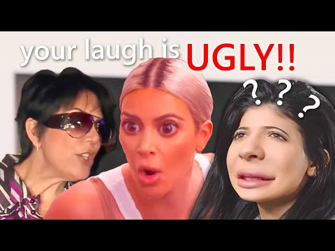 the kardashians being overly dramatic for 5 minutes straight
