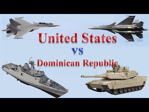 United States vs Dominican Republic Military Power 2017