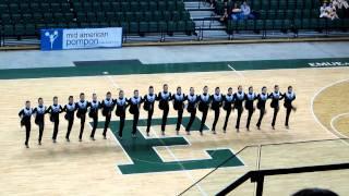 MSU Pom - 2012 Mid-American Pom State Championship