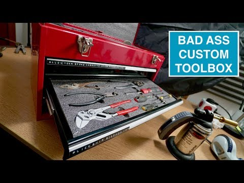 Building a custom toolbox with Kaizen Foam