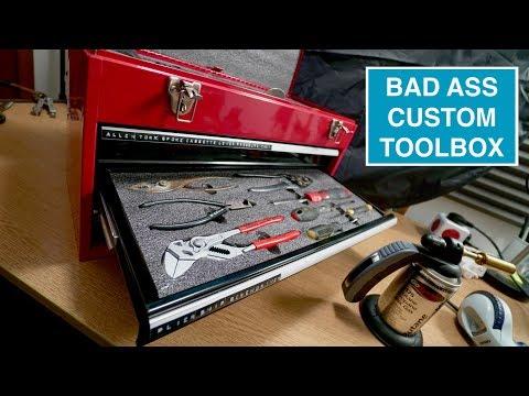 Building a custom toolbox with Kaizen Foam