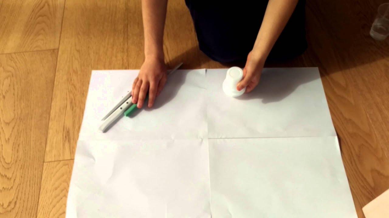 come fare una una casetta in cartone e stoffa tutorial