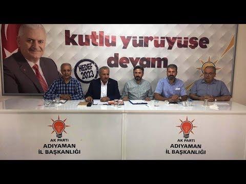 AK Parti'nin Adıyaman Koordinasyon Sorumlusu Şahin Oldu