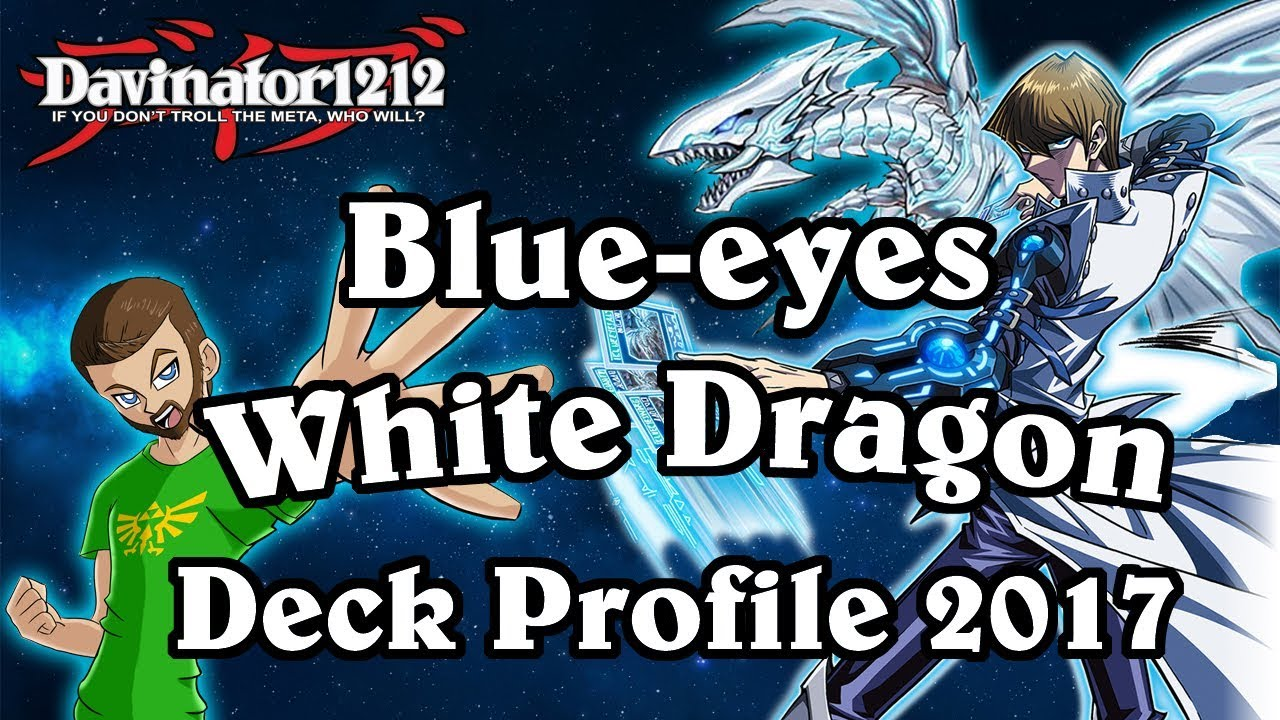 blue eyes white dragon in 2017 w chaos max october deck