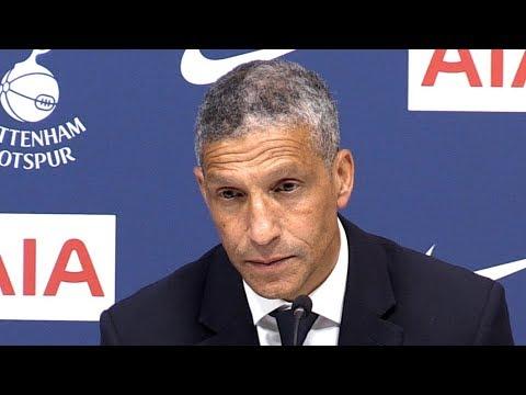 Tottenham 1-0 Brighton - Chris Hughton Full Post Match Press Conference - Premier League