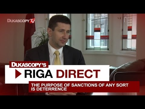 Minister Dombrovskis on RU-UKR