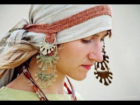 Усерязи, колты и другие украшения, которые носили модницы простолюдинки в Древней Руси