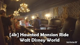 [4K] Haunted Mansion Ride 2016 - Walt Disney World - Magic Kingdom - Extreme Low Light POV