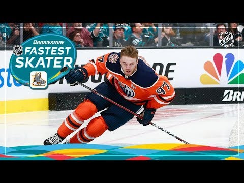 3072a0097 2019 NHL All Star Skills Competition Fastest Skater - YouTube