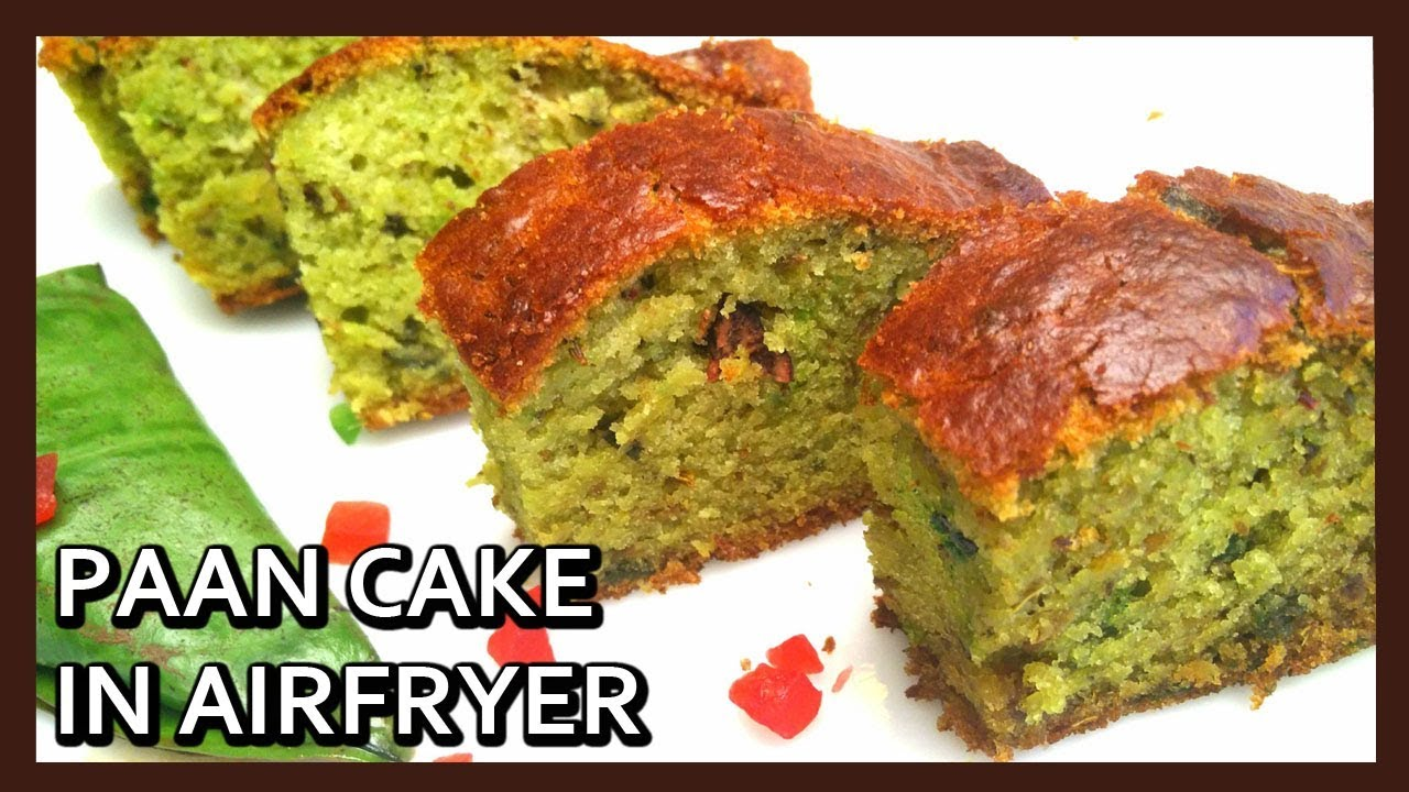 Cake Recipe With Kadai: Paan Flavoured Cake