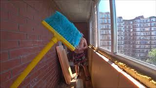 Простой способ утепления балкона,лоджии своими руками! Спасли редкого жука.